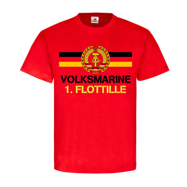 38892a1addd Hot Sell 2019 Fashion Volksmarine 1 Flotilla NVA DDR National Army East  Germany T Shirt O-Neck T Shirt