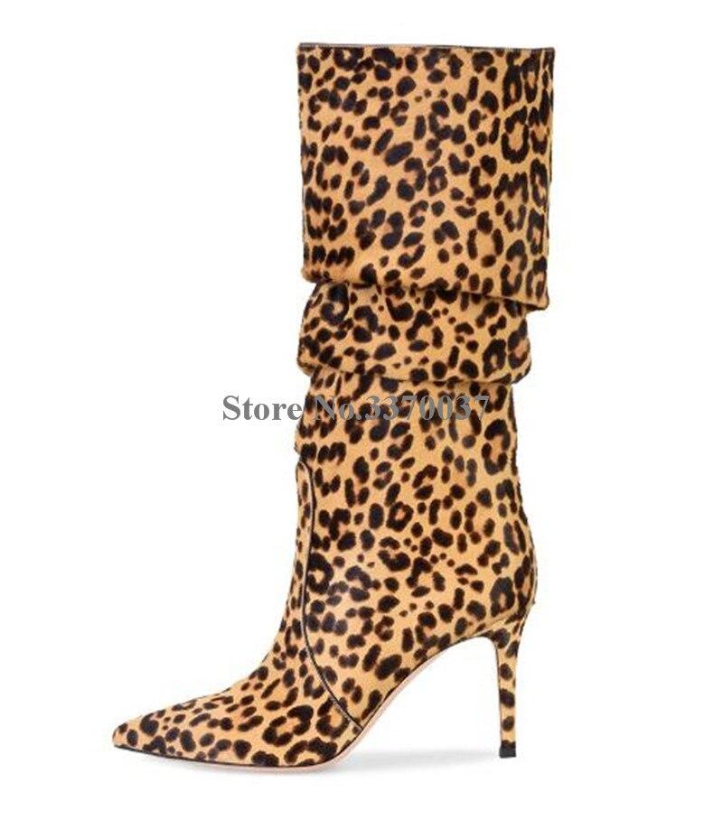 9afc1d4d Estrecha Mujeres Suede as Fino Picture Talón Alto on Botas As Invierno Los  Vestido Punta Tacón Rodilla Zapatos Slip Nuevas De Cuero ...