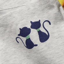 Women's Soft Cat Print Panties – 4 pcs Set