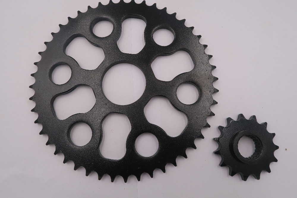 Motorbike Sprocket Set Rear/Front Motorcycle Chain 428 Motorbike Sprocket 2005-2008 For YAMAHA CP 250 (1B71) Maxam/Morphus 1 set motorcycle front
