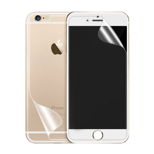 save off e00dd 5177a US $0.35 |For iphone 6 s 6s plus HD Clear Front LCD Screen Protector Back  Cover Protective Pet Film Shield ecran Mobile Phone Accessories-in Phone ...