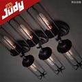 Judy Lighting-2 heads vintage wall lamp retro loft wall light  AC 90-240V  E27 use edion bulb40-60w