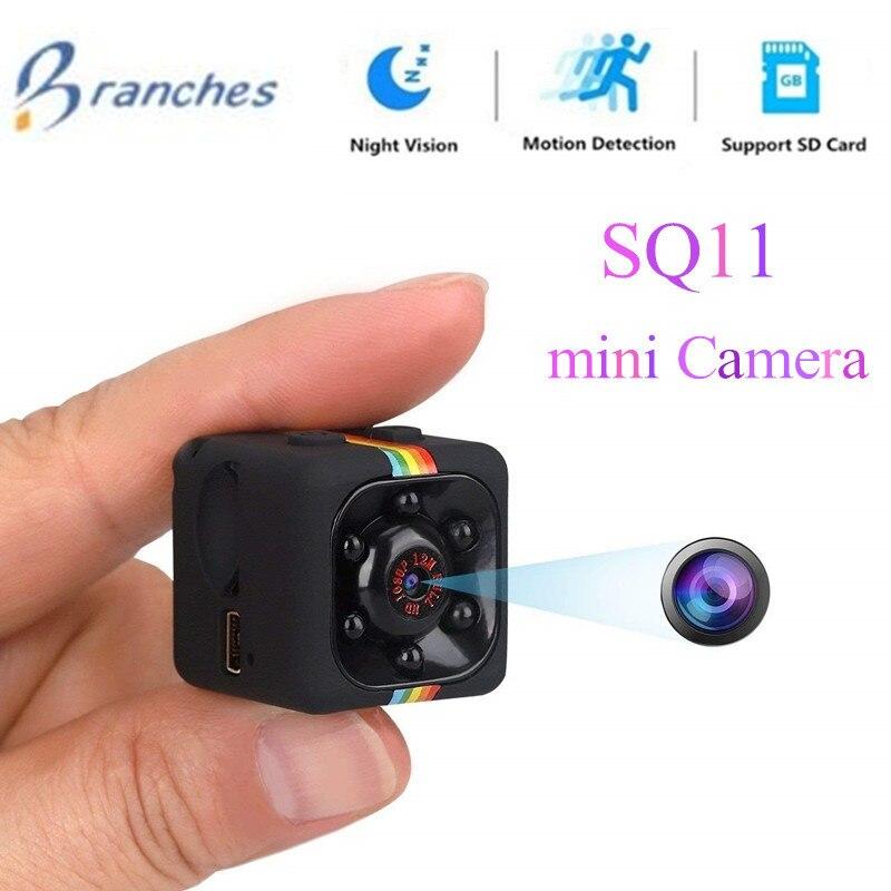 SQ11 HD mini Câmera pequena Câmera de Sensor de cam 720 p Night Vision Filmadora DVR Micro Câmera de vídeo DV Gravador De Movimento Camcorder SQ 11