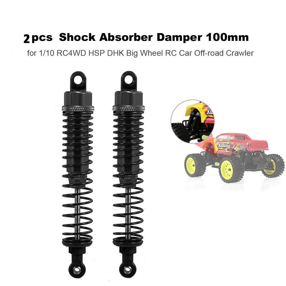 2PCS 1:10 RC Crawler Accessory Part Durable Shock Absorber Damper For1//10 RC HSP
