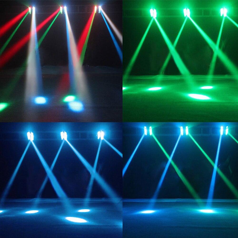 8x12w rotatif LED orientable effet de scène lampe araignée lumière de faisceau de scène pour Disco - 6