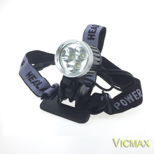 VICMAX 5000 Lumen lampe frontale 3 XML T6 LED Bicycle Light 3T6 Bike Head Light + Battery Pack+Charger+Oring
