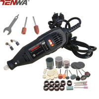TENWA 180W Grinder Mini Engraver Drill Variable Speed Electric Rotary Tool Grinder With 110pcs Dremel Accessories