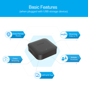 "Image 3 - Airdisk q2 모바일 네트워크 하드 디스크 usb2.0 2.5 ""홈 스마트 네트워크 클라우드 스토리지 다중 사람 공유 모바일 하드 디스크 박스"