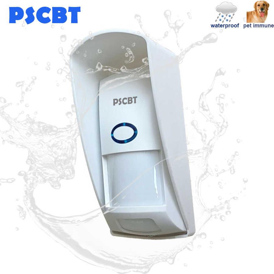 433mhz חיצוני PIR חיישן אינפרא אדום גלאי חיסון חיות מחמד עמיד למים sonoff אינפרא אדום motion חיישן עבור אבטחת בית מערכת