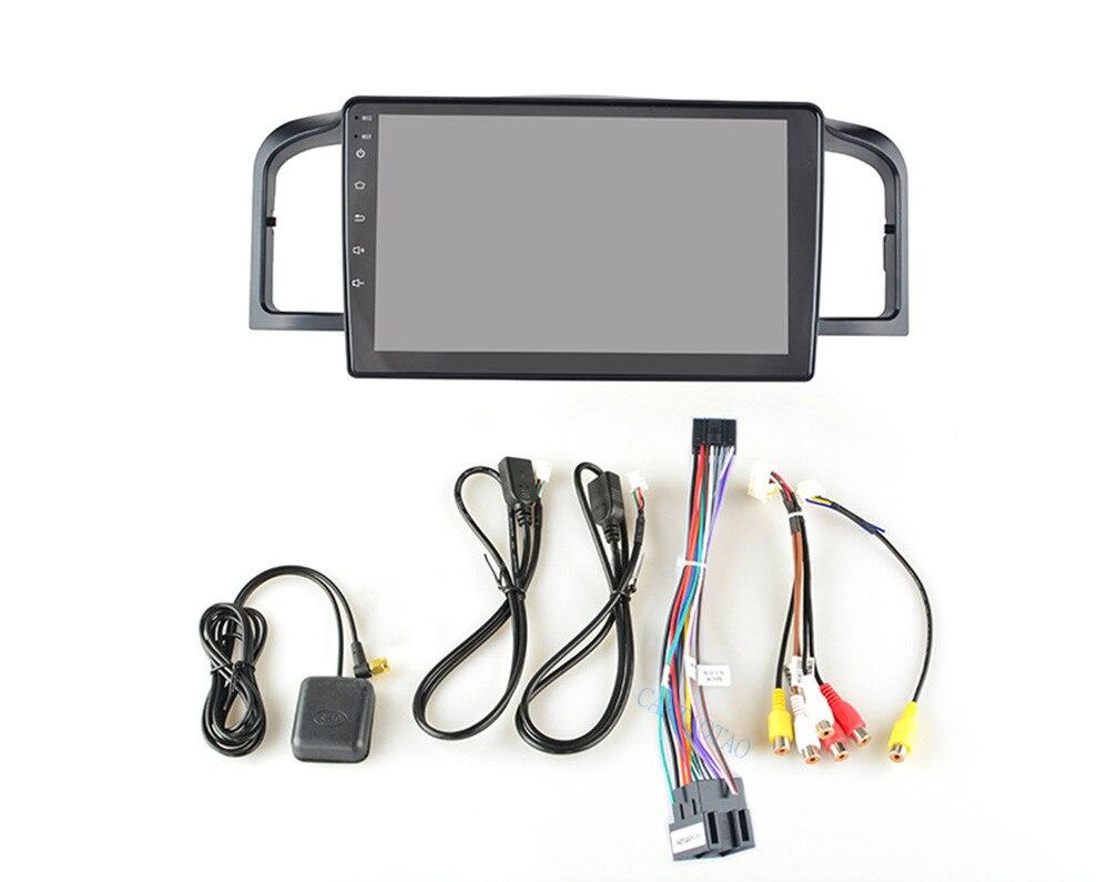 Voiture navigation 9 pouces Android 6.0 quad core soutien miroir lien DAB 2DIN voiture radio multimédia vidéo lecteur pour Lifan 620/Solano - 6