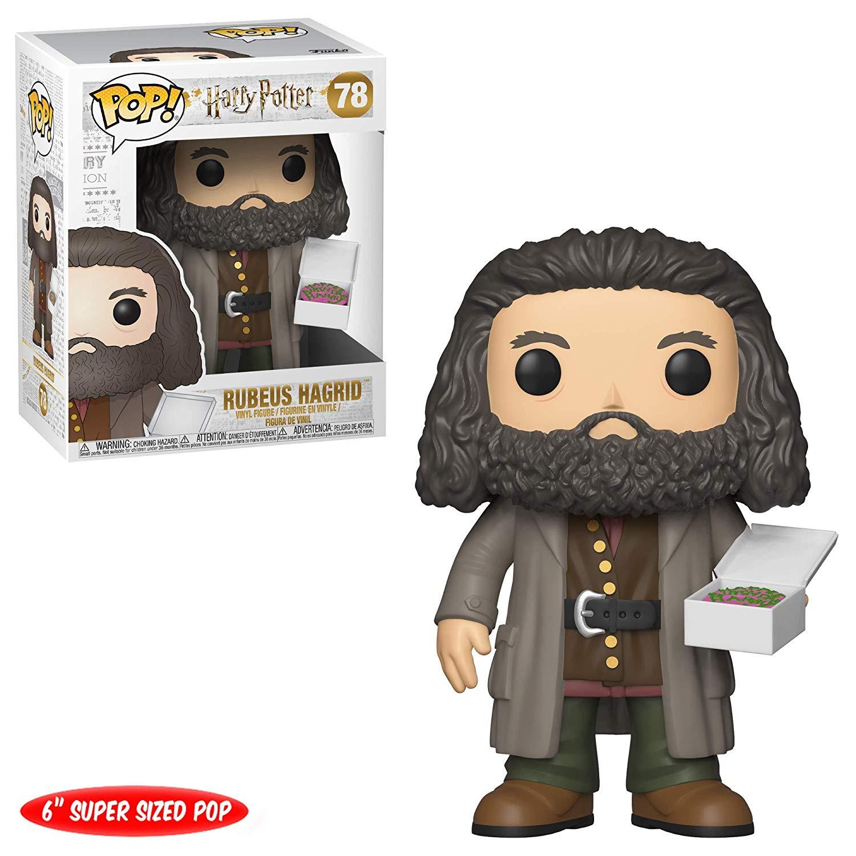 6 ''Funko pop Original Harry Potter-Rubeus Hagrid avec figurine à gâteau à collectionner figurine en vinyle modèle jouet avec boîte d'origine