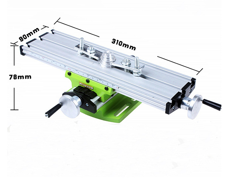 multifunction mini table bench vise bench drill milling machine stent 6300 aluminum alloy precision 0.05mm