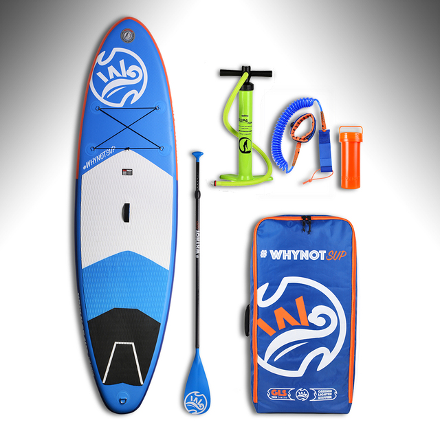 2018 WHYNOT Lighter  Inflatable Sup Board for Surf with Fin Pump AL Paddle and Other Accessories