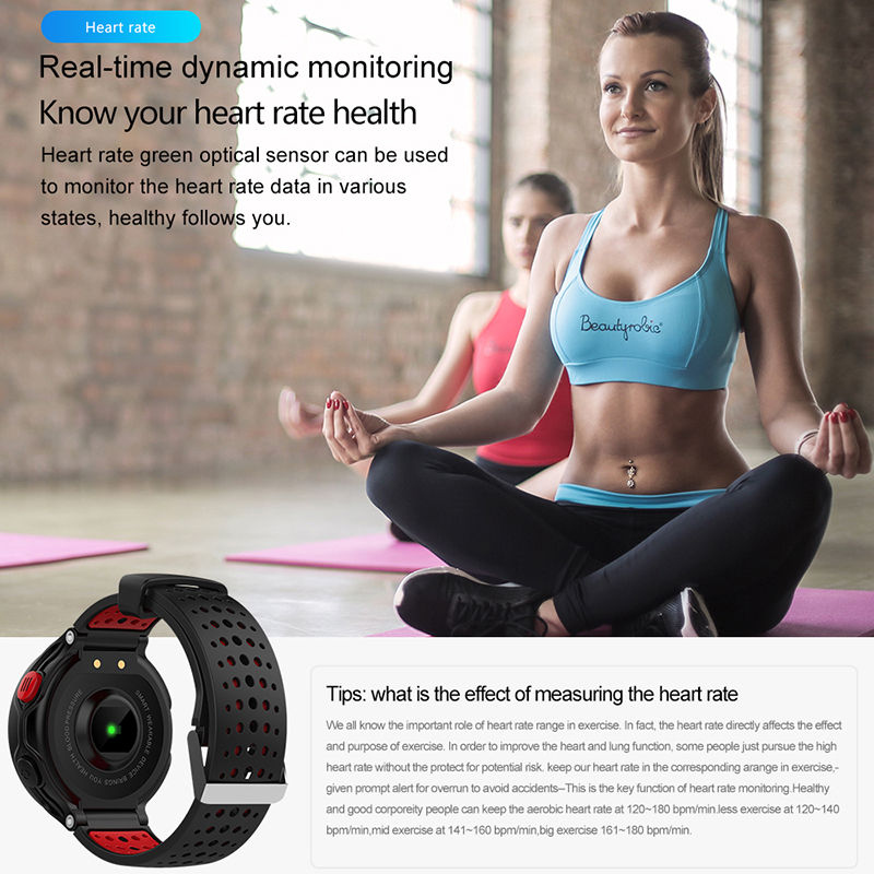 X2 Plus Long Standby Sports Smart Bracelet Waterproof IP68 Fitness Track Heart Rate Blood Pressure Monitor Bluetooth Smart Watch in Smart Wristbands from Consumer Electronics