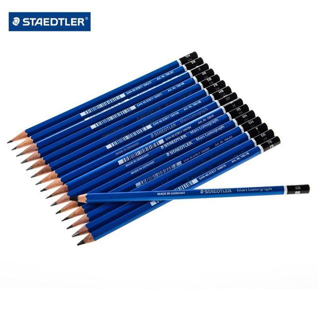 STAEDTLER 100 16 tipos de lápices de dibujo profesionales 12 unids/lote