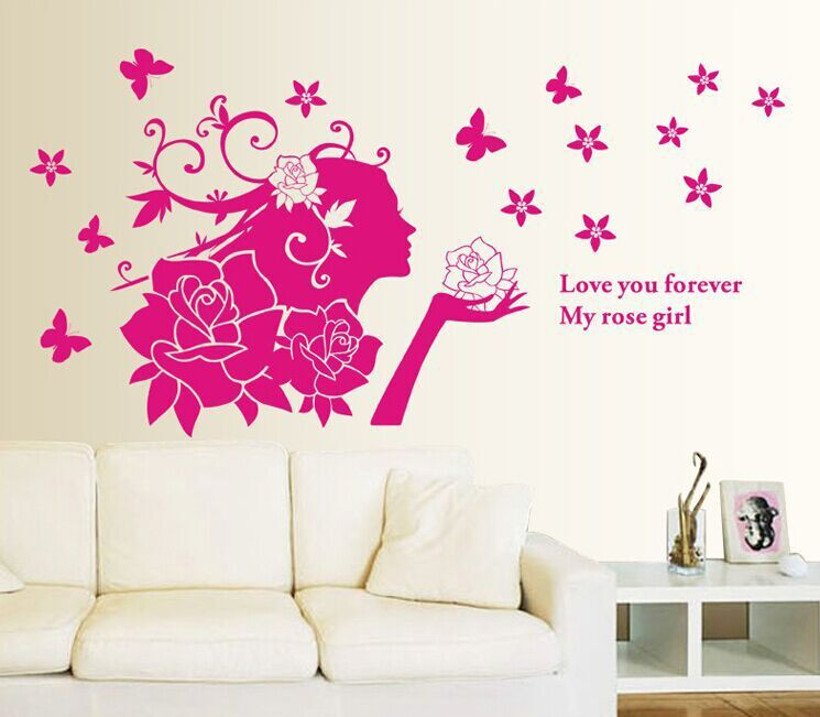 Rose Wall Decor online get cheap red rose wall decor -aliexpress | alibaba group