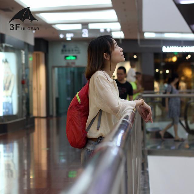 3F UL GEAR Dandelion Ultralight Folding Bag Waterproof Backpack Can Hold Water