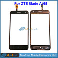 "Top Quality 5.0"" For ZTE Blade A465 Touch Screen Digitizer Front Glass Panel Sensor Replacement Black Color Free Shipping"