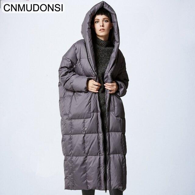 12f437bca29e Frauen Wärmer Jacke Winter Hoodies Mantel Designer Plus Große Größe Damen  Puffer Cape Damen Lange Grüne