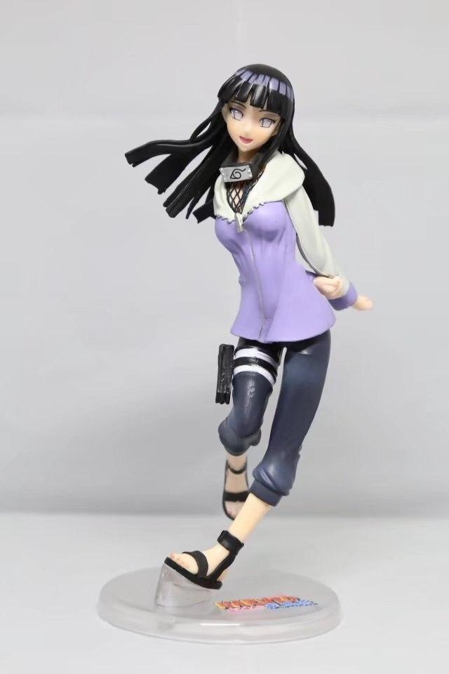 Naruto Figure Ninja Hyuuga Hinata Hyuga Figure Uzumaki Naruto PVC Action Figure Toy Collection Model Gift