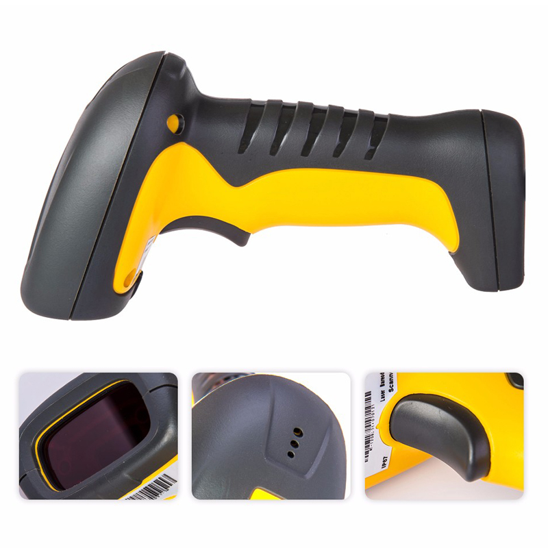 RADALL Handheld Wireless Bluetooth Barcode Scanner portable Waterproof IP67 2d film Scanner Easy Charging QR Code Reader RD 1203 in Scanners from Computer Office