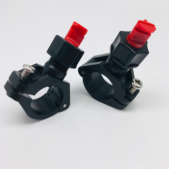 Clip eyelet Wide Angle flat fan nozzle,Clamp eyelet clip nozzle,plastic quick release clip-eyelet spraying nozzle фото