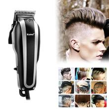 Kemei KM-8848 Pro 12W Electric Hair Clipper Professional Hair Trimmer Rechargable Hair Trimmer Shaver Clipper for Men
