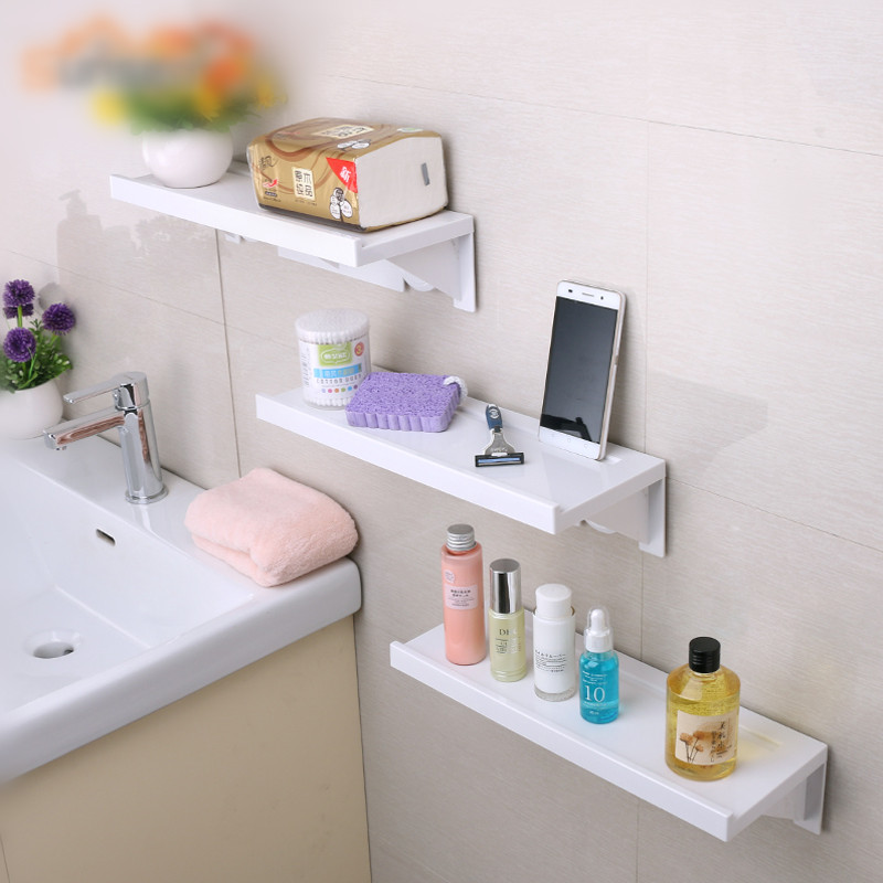 High-quality wall-mounted Bathroom shelf decorative storage rack soap holder orgnaizer bathroom accessories henry wood trevlyn hold