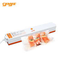 CYMYE Food Vacuum Sealer Packaging Machine 220V Including 15Pcs Bag Household Vacuum Packer Can Be Use
