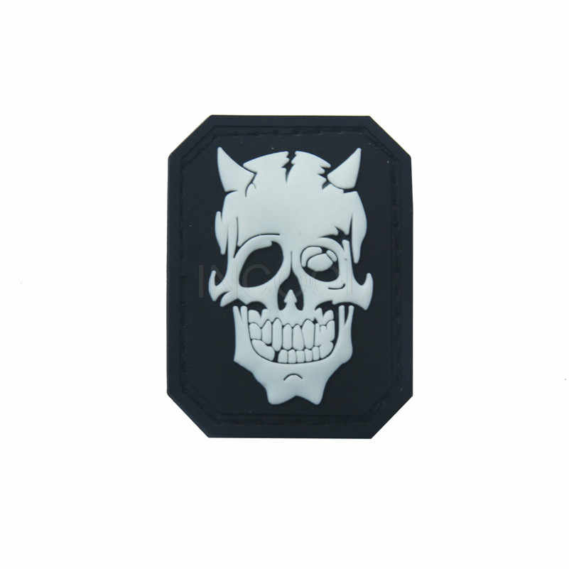 0f913e9ef68 Detail Feedback Questions about 3D Skull PVC Patch Military Morale ...