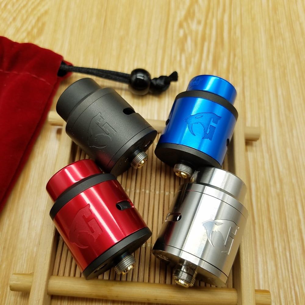 CYAN Original Lostart RDA atomiseur 24mm BF Squonk 510 broches Top remplissage Vape e Cigarette réservoir VS GOON 528 Lostart V1.5 RDA