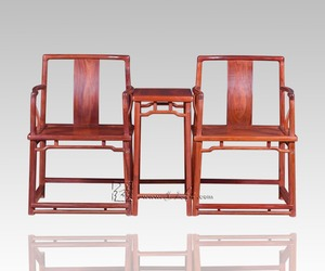 Southern Mandarin Chair And Small Tea Table 3-pieces Sets Living Room Teapoy Antique Rosewood Armchair Coffee Desk Furnitures