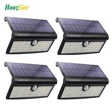 HoozGee Solar Lights Outdoor 58 LED Motion Sensor Lights Wall Light Garden
