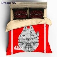 Dream NS Star Wars Bedding Set Millennium Falcon Bedclothes Outer Space Ship Duvet Cover Sets AU
