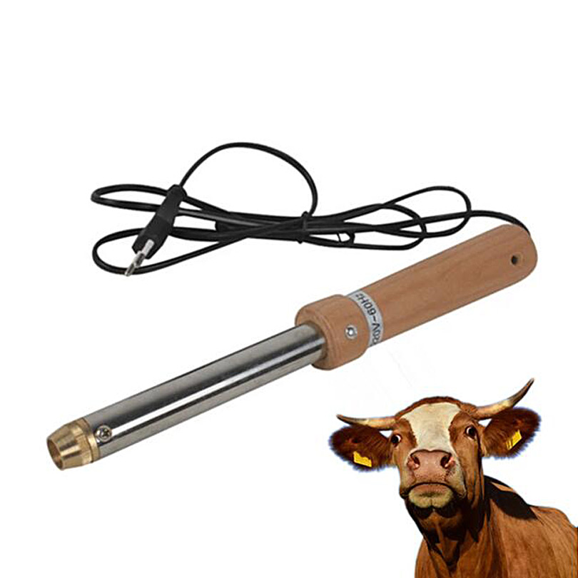 Veterinary Stainless Steel 220V 60HZ Dehorner Cow Sheep Cow Removing Angle Device Electric Searing Cow Angle