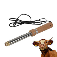 Veterinary Stainless Steel 220V 60HZ Dehorner Cow Sheep Cow Removing Angle Device Electric Searing Cow Angle Device