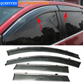 Car Stylingg Awnings Shelters 4pcs/lot Window Visors For Nissan Tiida Sedan/hatchback 2007-2016 Sun Rain Shield Stickers Covers