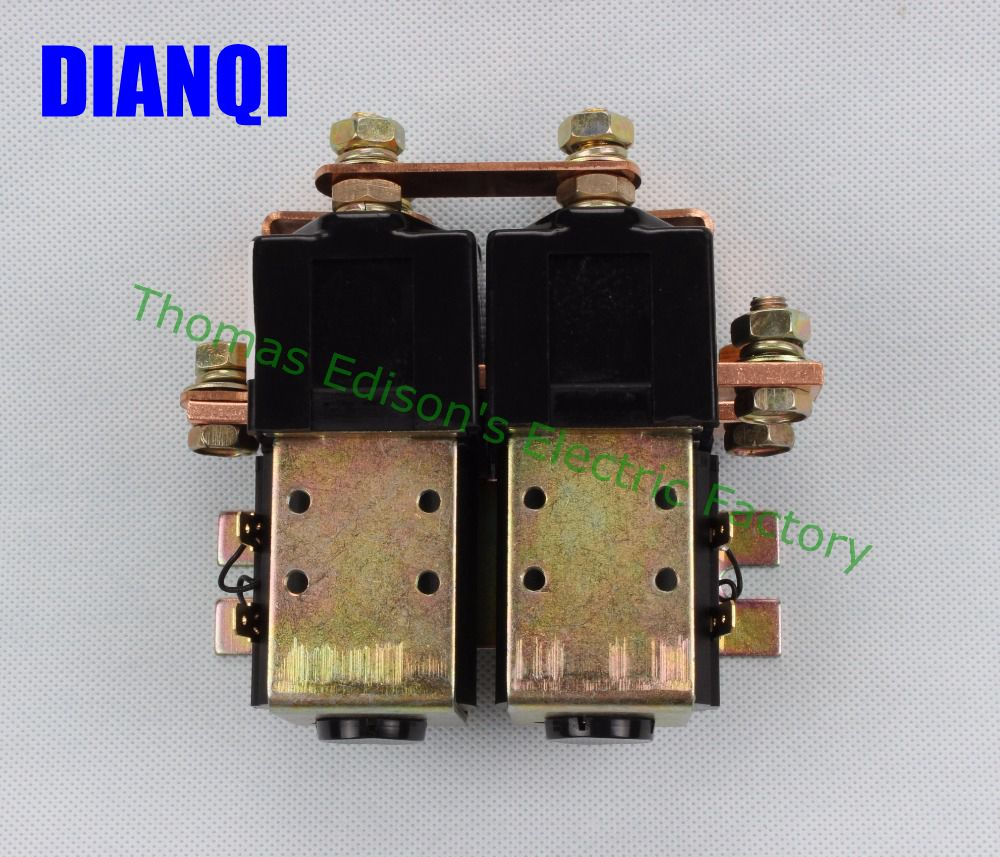цена на SW88 2NO+2NC 12V 24V 36V 48V 60V 72V 100A DC Contactor ZJW100AHT for forklift handling drawing wehicle car PUMP MOTOR