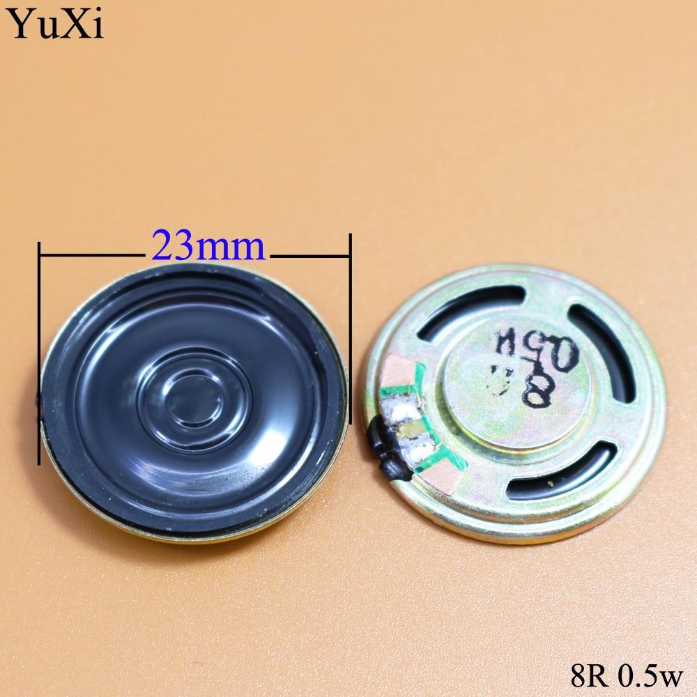 YuXi  New Ultra-thin Speaker 8 Ohms 0.5 Watt 0.5W 8R Speaker Diameter 23MM 2.3CM Thickness 4MM