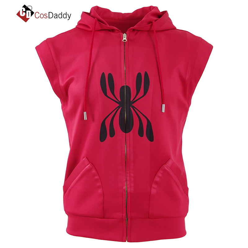CosDaddy Spider men Cosplay Costume Spider-man  Vest top
