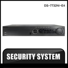 Ds-7732ni-e4 oryginalna wersja angielska hikvision nvr 32ch 4 sata wsparcie 4hdd wspieranie alarm, nie HIK POE NVR dla kamer CCTV