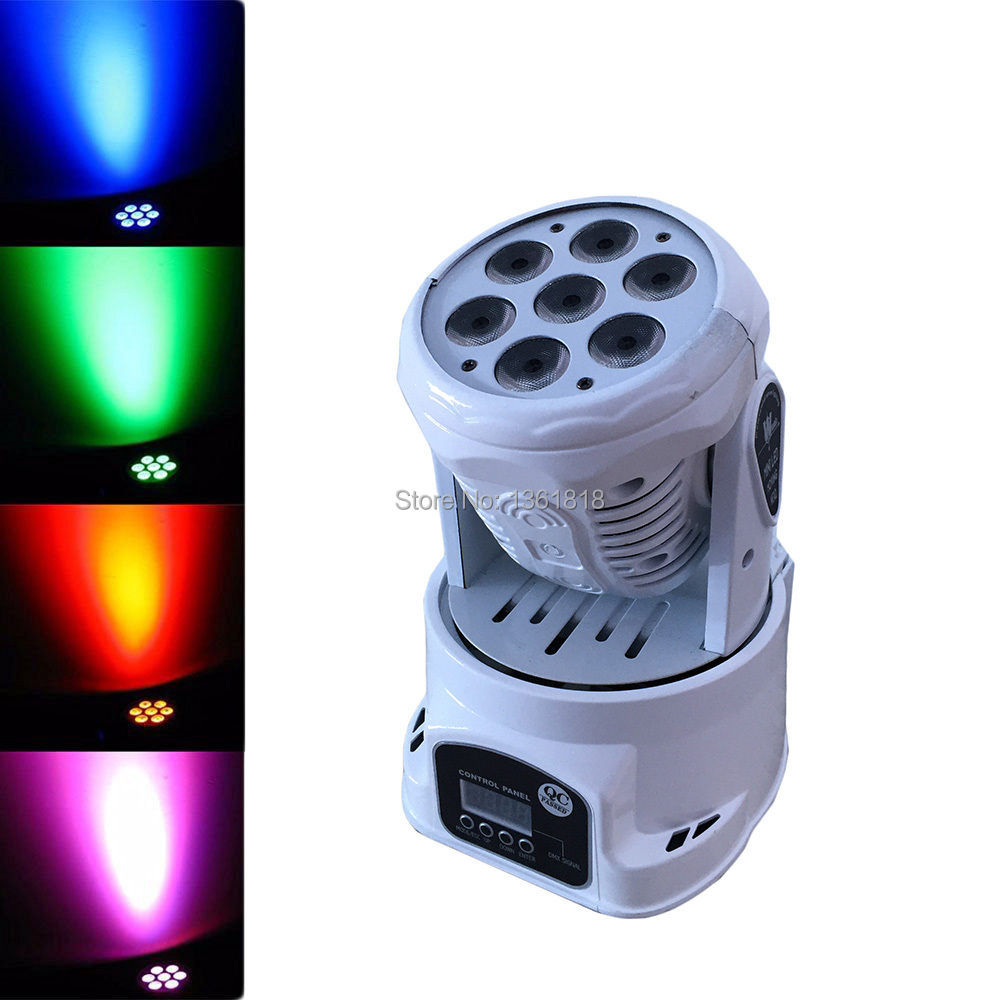 Hot sell dj lighting 7x12w wash dmx controller led rgbw Light Wash Dimming Strobe Lighting Effect Lights for Disco DJ Party Show dmx led par lamp 54w rgb led stage par light 54leds wash dimming strobe lighting effect lights for disco dj party show