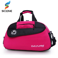 2017 Nylon Sport Gym Bag Outdoor Waterproof Women Handbag Fitness Bag For Men Shoulder Training Camping