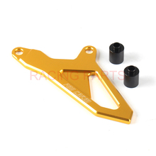 цены Motorcycle CNC Front Sprocket Cover Guide Guard Protector For RMZ250 07-16 2008 2009 2010 2011 2012 RMZ450 05-16 2013 2014 parts