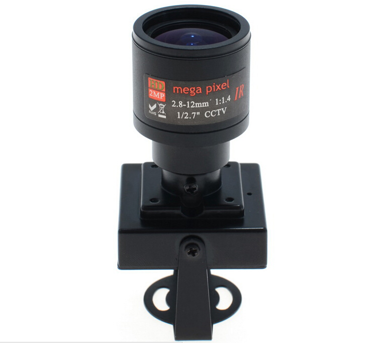 700TVL CCD Mini CCTV Security FPV Camera OSD D-WDR 2.8-12mm Focus Zoom Lens