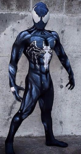 Venom Symbiote Spider-man Cosplay Costume 3D Print Superhero Costumes Adult/Kids Movie Venom Symbiote Spiderman Bodysuit