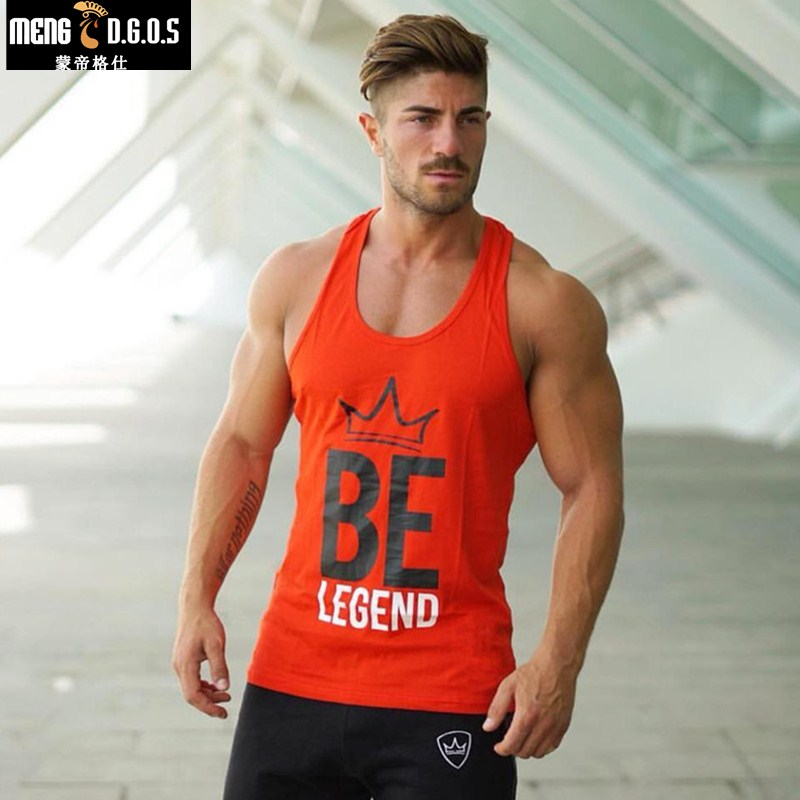 Brand mens   top     tank   Summer Cotton Slim Fit Men   Tank     Tops   Clothing Bodybuilding   tank     top   men Undershirt Golds Fitness   tops   tees