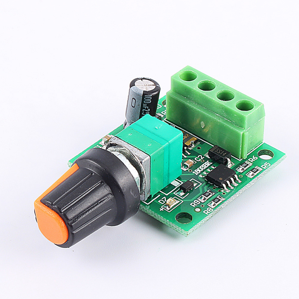 Home Improvement Motors & Parts Professional Sale Dc Brush Motor Governor 20a 9v-60v Wide Voltage High Power Pwm Stepless Speed Control Board T1