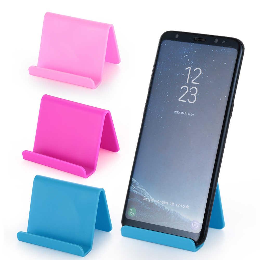 1PC Universal Mini Ponsel Pintar Meja Meja Mount Berarti Ponsel Pemegang Bracket untuk Sel Ponsel Tablet Malas bracket