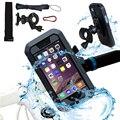 Водонепроницаемый держатель для телефона на велосипед  аксессуары для телефона  подставка для мотоцикла  универсальная сумка для iphone X 8 7 ...